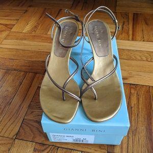 Gianni Bini Strappy Naked Heels